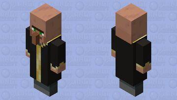 Evoker except it is a villager Minecraft Mob Skin