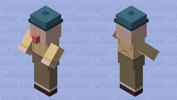 Untitled Goose - Old Man Minecraft Mob Skin