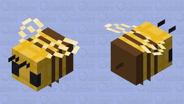 `^ waffle bee ^` Minecraft Mob Skin