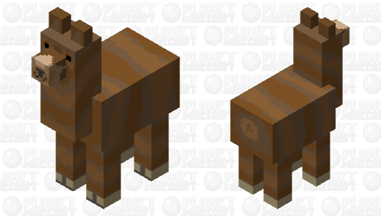 A llama.... but it's different Minecraft Skin