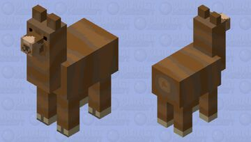 A llama.... but it's different Minecraft Mob Skin