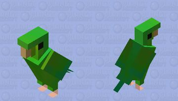 Periquito-rico (Brotogeris tirica) Minecraft Mob Skin