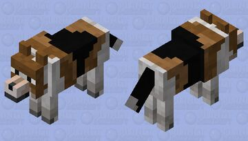 Beagle Minecraft Mob Skin