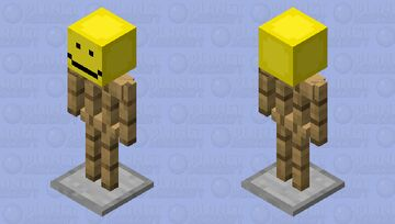 Happy Armour stand. Minecraft Mob Skin