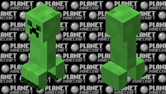 Cutesy Creeper Minecraft Skin
