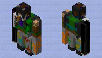 The Great Nose Heist Minecraft Mob Skin