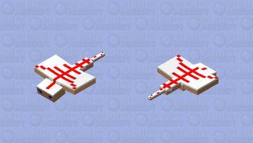 A Yummy Flying Cake Minecraft Mob Skin