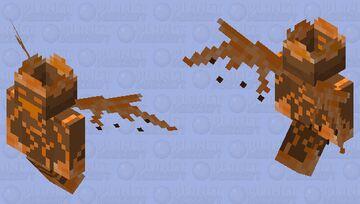 Fire Spirit (Default) Minecraft Mob Skin