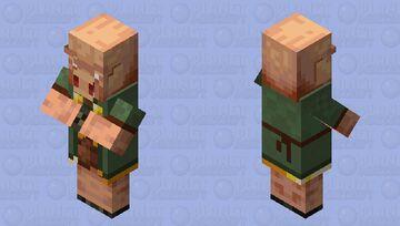 piglin/villager(remade/nitwit/) Minecraft Mob Skin