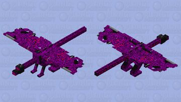 omegadragon the true final boss Minecraft Mob Skin
