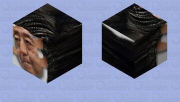 安倍晋三 Depressed Ghost of Abe Shinzo Minecraft Mob Skin