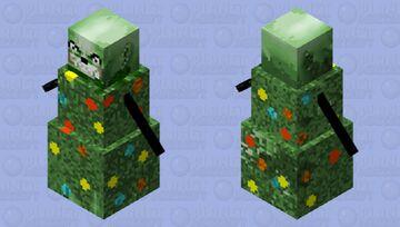 chrismas tree snowman Minecraft Mob Skin