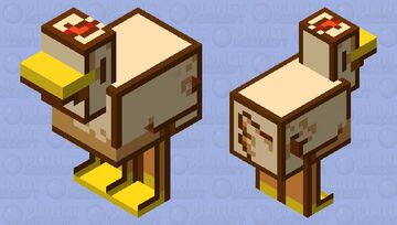 Stardew Valley - Chicken Minecraft Mob Skin