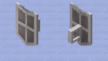 Steel Kiteshield (t) | OSRS Minecraft Mob Skin