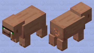 monkey / villager pig Minecraft Mob Skin