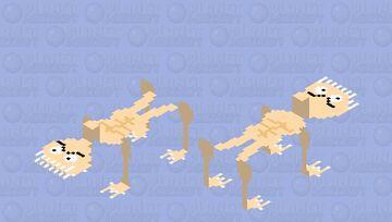 your SKINNY NIGHTMARE 💀💀💀💀💀 Minecraft Mob Skin