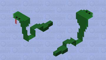 Snake Minecraft Mob Skin