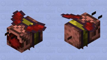 【Angry Nectar Ver.】Organic Snooper Minecraft Mob Skin