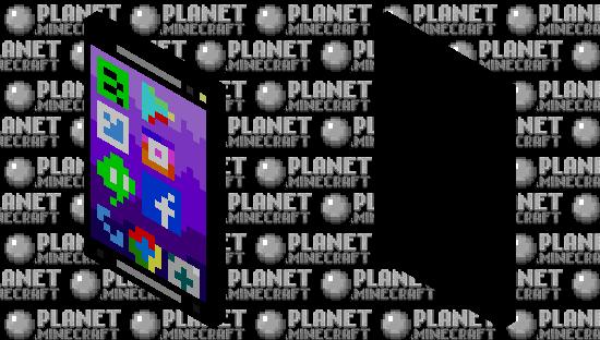 Phone cape Minecraft Skin