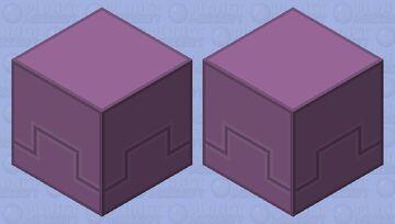 Simplistic Shulker Minecraft Mob Skin