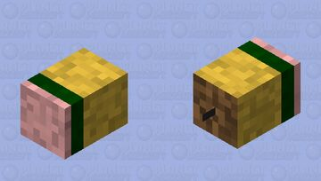 Short Pencil (Bee) Minecraft Mob Skin