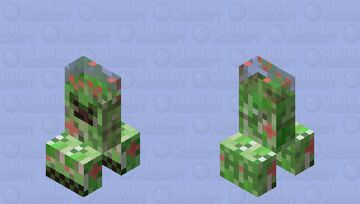 Short and Sweet Creeper Minecraft Mob Skin