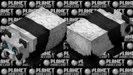 cute panda Minecraft Skin