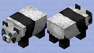 cute panda Minecraft Mob Skin