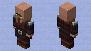 Pillager except a villager Minecraft Mob Skin