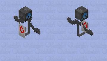 Galarian yamask Minecraft Mob Skin