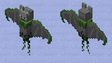 Stone Bat - For the PMCRP Minecraft Mob Skin