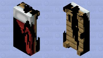 Corrupted bed Minecraft Mob Skin