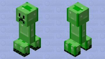 Bowmanimmortal's Super Awesome Creeper In My Style™ Minecraft Mob Skin