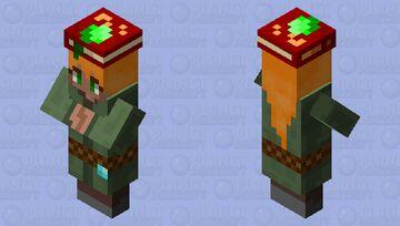 Female Diamond Level Librarian Minecraft Mob Skin