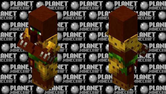 jungle villager retexture Minecraft Skin