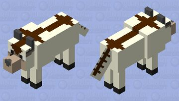 Appa but he's a wolf Minecraft Mob Skin