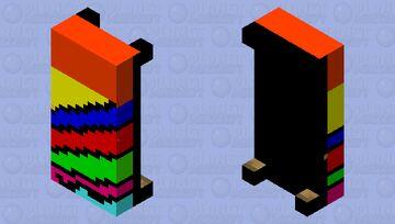 multi colour bed Minecraft Mob Skin