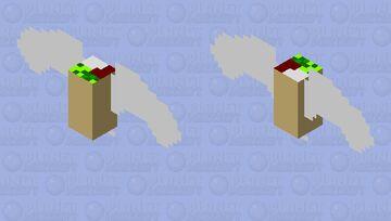 the flying burrito Minecraft Mob Skin