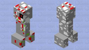 spoiled terminator creeper Minecraft Mob Skin