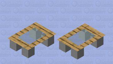 Panda coffee table Minecraft Mob Skin