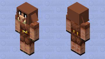 Girl Piglin! Minecraft Mob Skin