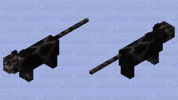 A Warrior Cat OC- TurtlePatch of Reedclan- AKA loner & Society cat- Obsidian Minecraft Mob Skin