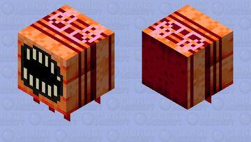 Satanic bee Minecraft Mob Skin