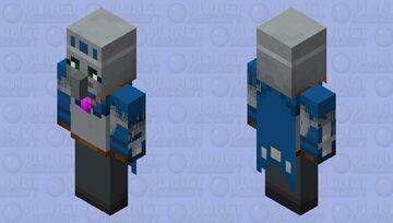 Revamp female illusioner illager Minecraft Mob Skin