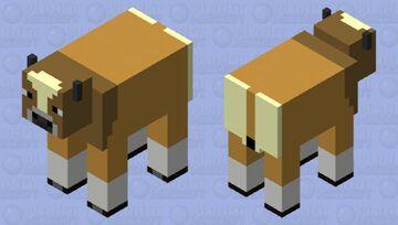 Wild Banteng bovine Minecraft Mob Skin