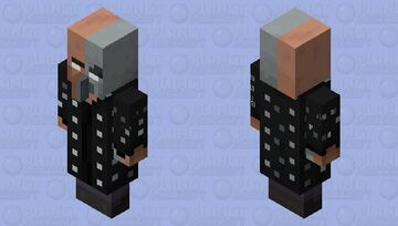 The space time mage Minecraft Mob Skin