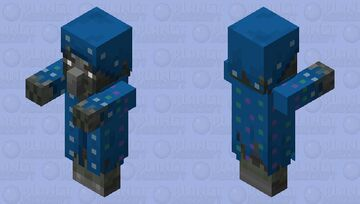 Zombie Illusioner Minecraft Mob Skin