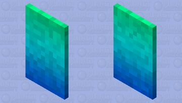 Rainbow Mage's Cloak Minecraft Mob Skin