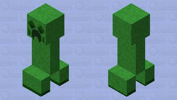 creeper moss (seventh stage)(ver.7) Minecraft Mob Skin