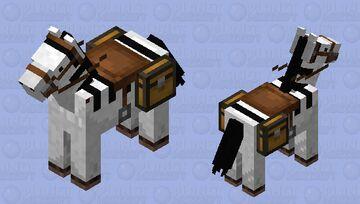 Zebra Minecraft Mob Skin